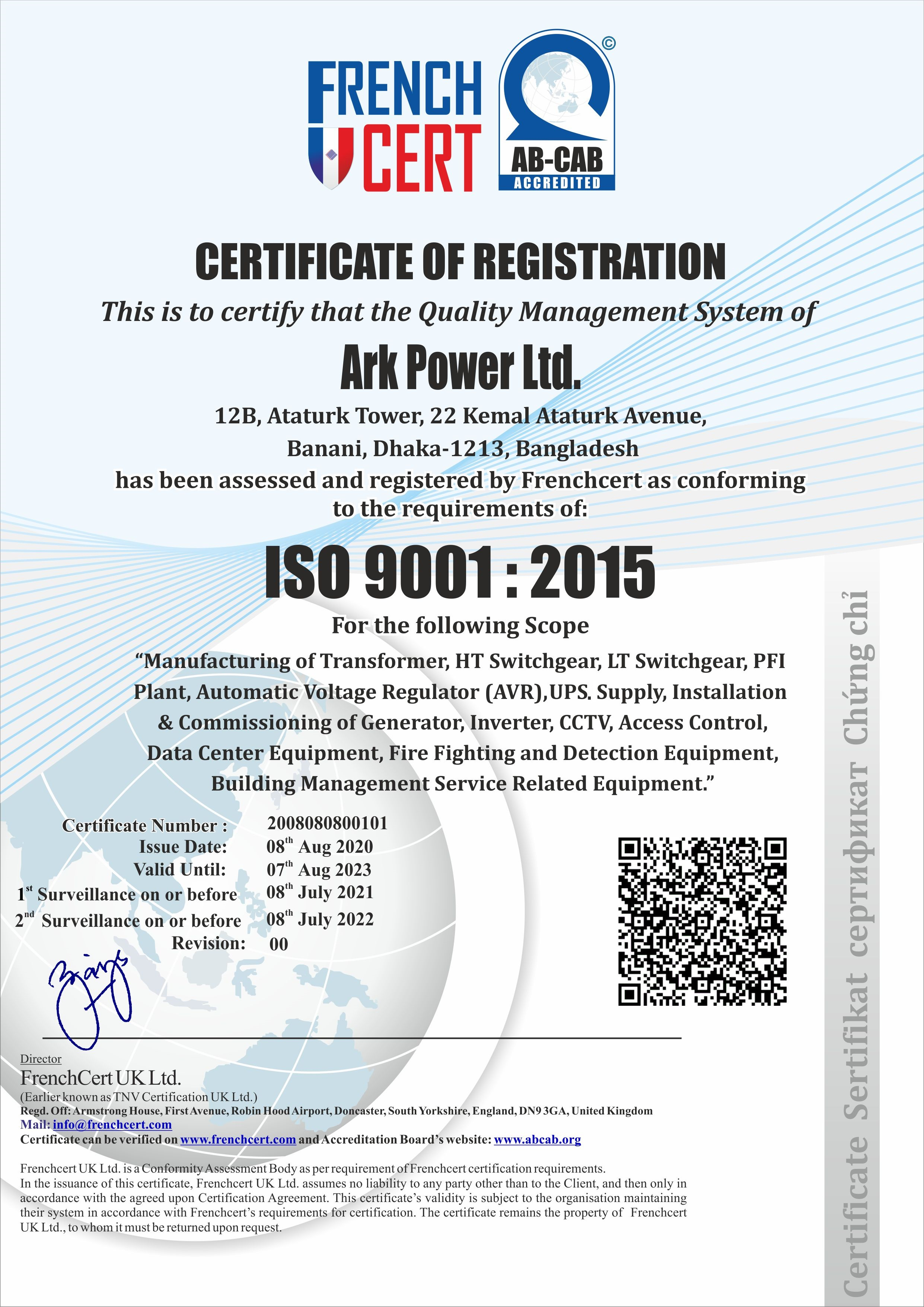ARK POWER LIMITED